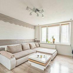 Ponúkam výnimočný, kompletne zrekonštruovaný trojizbový byt na ul. Mikovíniho