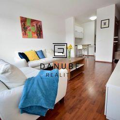 Prenájom  2izbový byt s výťahom a garážovým státím v novostavbe na Saratovskej ulici v Bratislave-Dú