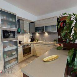 3 izbový byt s priestrannou a otvorenou obývačkou spojenou s kuchyňou