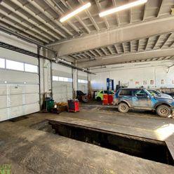 Prenájom - servis, dielňa  230 m2 v priemyselnej zóne v Žiline