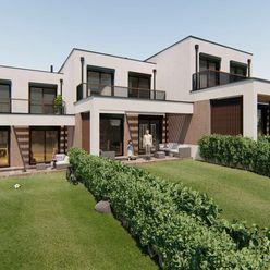 SKOLAUDOVANÝ DOM C !!! Novostavba, dvojpodlažného 4 - izbového RD, 3 parkovacie státia, terasa, balk
