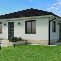 NA PREDAJ novostavba rodinného domu - bungalov v obci Ivanovce (RD2)
