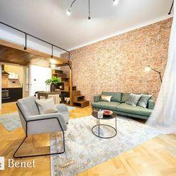 Arvin & Benet | Výnimočný dizajnový byt vStarom meste
