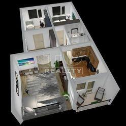Krásny, slnečný 3.izb.byt typu VNKS v rozlohe 68 m2 v blízkosti Banskej Bystrice v prírode, ktorá vy