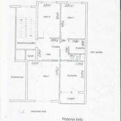 3 izb. byt Ševčenková ul.
