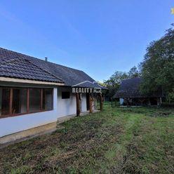 Samota s obrovským pozemkom 16 400 m2 Drietoma