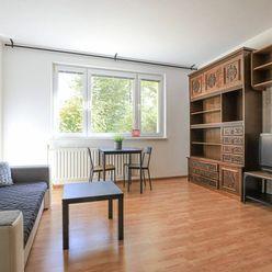 HERRYS - Na prenájom šikovný 2-izbový byt s výbornou dispozíciou v tichej a zelenej lokalite Ružinov