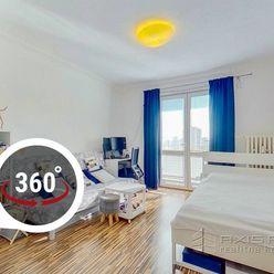 AXIS REAL:: 1-izbový byt, LODŽIA, BA III. Nové Mesto, Račianska ul.
