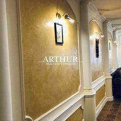 ARTHUR - prenájom 4 izbového bytu na  hradnom kopci  pre náročného klienta