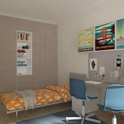 3i byt s dvoma balkónmi Zelené Vlčince D.204