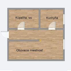 Na predaj – 1-izbový byt v Trnave na ulici Šafáríkova ( Fotky na vyžiadanie )