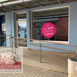 Ponúkame Vám na prenájom komerčný priestor v Trenčíne časť Zámostie o rozlohe 158 m2.