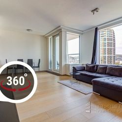 AXIS REAL:: 2-izbový byt, PANORAMA CITY, LODŽIA, VÝHĽAD, Landererova