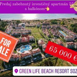 AstonReal: predaj 2i apartmán+balkón Green Life Beach Resort Sozopol