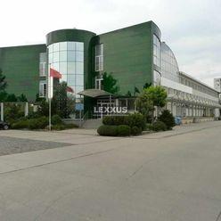 LEXXUS - PREDAJ, admin.budova s gastro prevádzkou, sklady, 60 park.,Trnávka