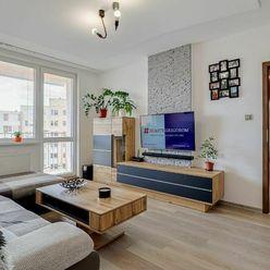 Kompletne zrekonštruovaný 3-izbový byt na Kurskej ul.