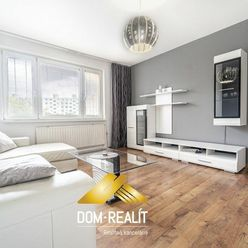 DOM-REALÍT ponúka príjemný 4izbový byt v Petržalke, Krásnohorská ul.
