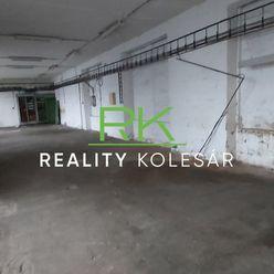 RealityKolesár prenajíma sklad 129 m2  Južná Trieda