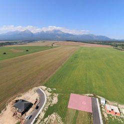 Stavebný pozemok pod Tatrami - Veľká Lomnica