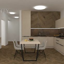 Na prenájom: zariadený 3 izbový byt, 72 m2 + 6 m2 balkón, novostavba, Žilinská ul., Trenčín / Sihoť