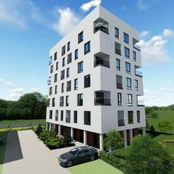 SQUARE • 1 izbový byt s loggiou v NOVOSTAVBE