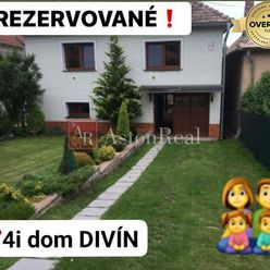 REZERVOVANÉ: RD Divín, okres Lučenec, zrekonštruovaný, pozemok 840 m2