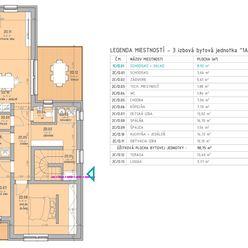Krásny, veľkometrážny 3 izbový byt s 1.500 € poukážkou