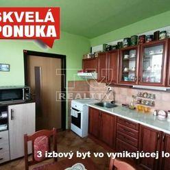 Na predaj 3 izbový byt vo vynikajúcej lokalite. Levice, 75 m2