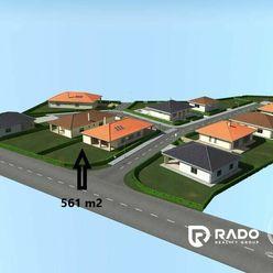 Na predaj pozemok 561 m2 v Bánovciach nad Bebravou