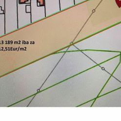 PREDAJ veľký pozemok v obci Kameničná - 13 189 m2