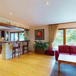 Predaj 6 izbový, 3podlažný rodinný dom v lone prírody, Limbach