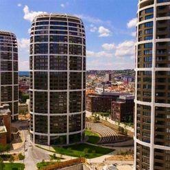 EXKLUZÍVNY  3-izbový byt v SKY PARKU, 97,2 m2, S DOKONALÝM VÝHĽADOM NA BRATISLAVSKÝ HRAD.