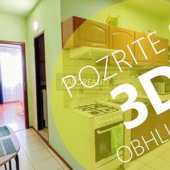 HALO reality - Predaj, dvojizbový byt Trnava, IBA U NÁS 3D OBHLIADKA A VIDEO OBHLIADKA
