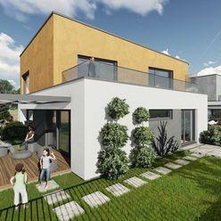 Výstavba 4 rodinných domov v Bratislave