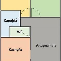 Ponúkame Vám na prenájom nebytový priestor na prízemí v Trenčíne - ul. Gagarinova.