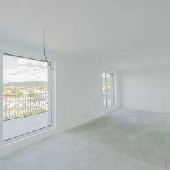 Predaj 5i priestranného bytu s terasou a krásnym výhľadom, novostavba Kolísky