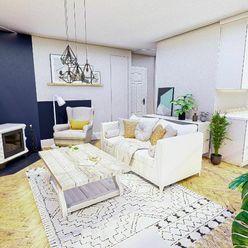 Exkluzívne na predaj dvoj izbový byt o rozlohe viac ako 62 m2 s nádherným výhľadom na Kalváriu, B.Š.