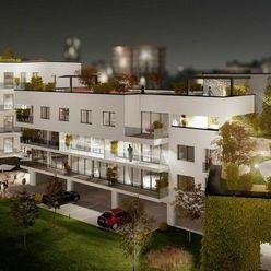 Predáme novostavbu 2+kk bytu, 54,3 m², Žilina - centrum, Ružičkov dom, R2 SK.