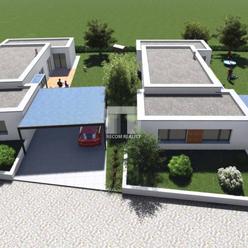 Novostavba: Moderný nízkoenergetický rodinný dom, Príbovce