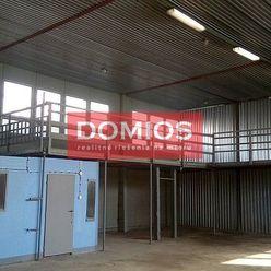 Prenájom výrob. priestorov (199,88 m2, vjazd. rampa, kancel., parking, N1)