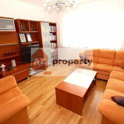 Ponúkame na prenájom pekný zariadený 4-izbový byt s lodžiou na Topoľčianskej ulici v Petržalke