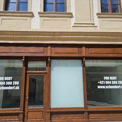 Novo zrekonštruovaný obchodný priestor s nádychom histórie