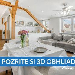 EXKLUZÍVNE Bývanie v 3 izbovom byte Bratislava - Nové Mesto