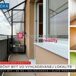 3 izbový byt 85 m2, Kalinčiakova, Zlaté Moravce + 3D