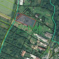 EXKLUZÍVNE - Na predaj krásny stavebný pozemok v obci RADVANOVCE