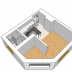 EXKLUZÍVNE!! Predaj 1+1-izbového bytu v širšom centre mesta Žilina