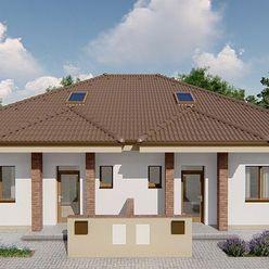 Príjemné bývanie 4-izbového rodinného dvojbungalovu v krásnom prostredí Rohoviec
