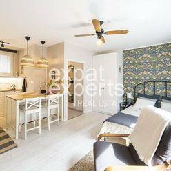 Dokonalý, dizajnový 1i byt, 27m2, petfriendly, výborná lokalita