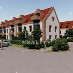 Nové byty pri rieke Tomášikovo 3.NP: 3 izbové mezonetové!