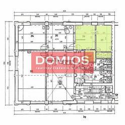 REZERVOVANÉ | prenájom obchod. priestorov (30,75 m2, 1. p., starostl. o ľudské telo, sprcha, WC, par